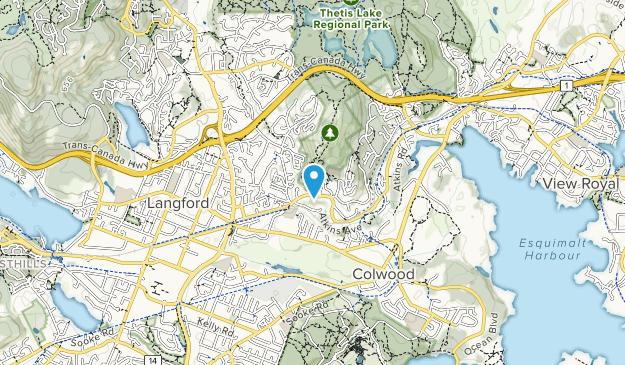 Mill Hill Regional Park Map