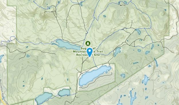 Sugarloaf Mountain Bike Trail Recreation Site Map