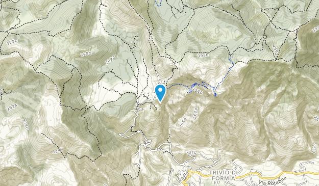 Monti Aurunci Natural Park Map