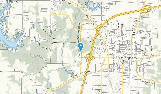 TREC - Trail Recreation Effingham County Map