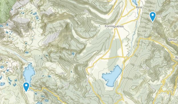 Pyrénées Catalanes Regional Nature Park Map