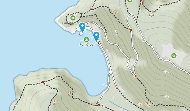 Port-Cros National Park Map