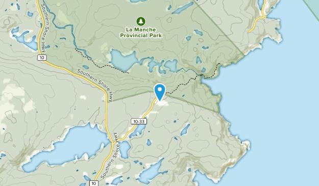 La Manche Provincial Park Map