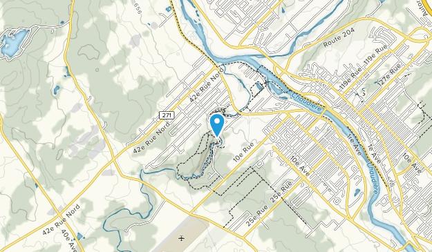 Parc des Sept-Chutes Map