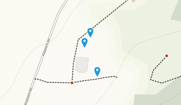 Keppoch Mountain Map