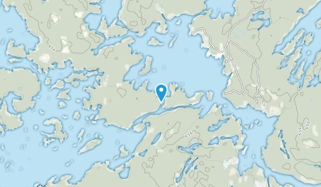 The Massasauga Provincial Park Map