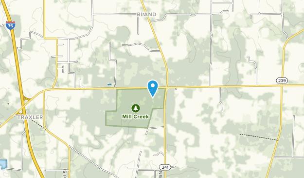 Mill Creek Preserve Map