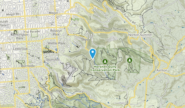 Horsnell Gully Conservation Park Map