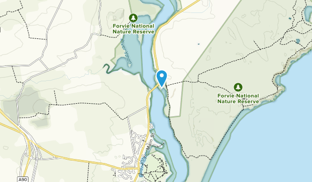 Forvie National Nature Reserve Map