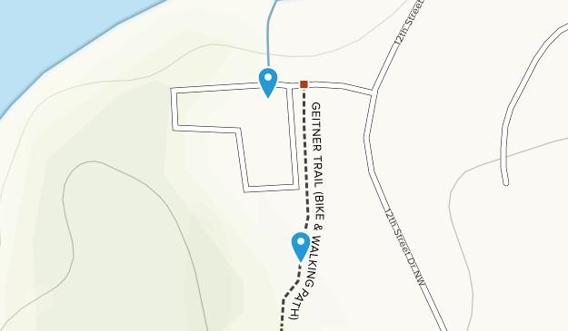 Geitner Rotary Park Map
