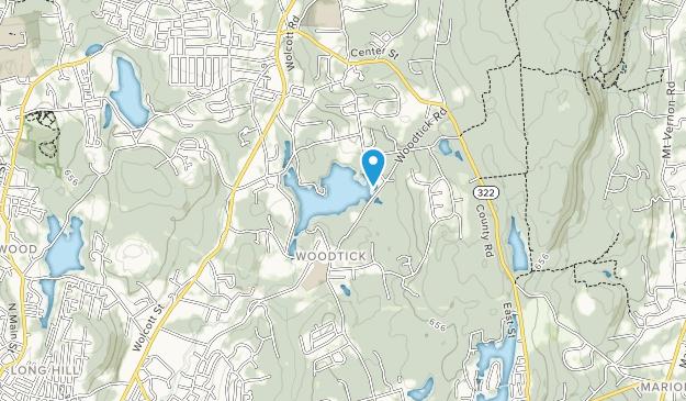 Woodtick Recreation Area Map