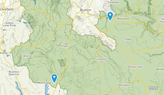 Peak District National Park Map