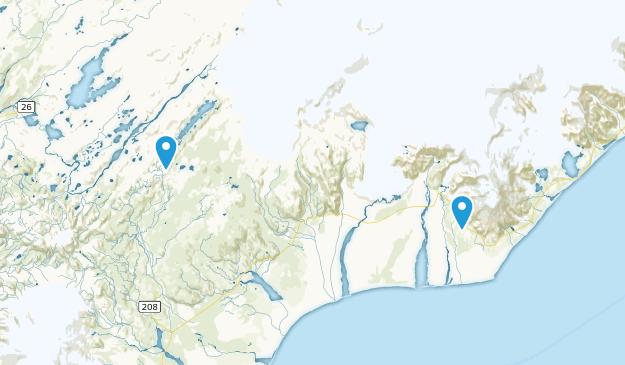 Vatnajökull National Park Map
