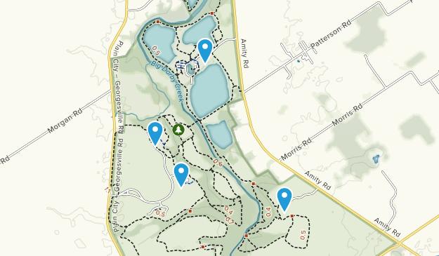 Prairie Oaks Metro Park Map