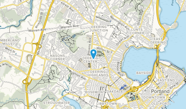 Baxter Woods Park Map