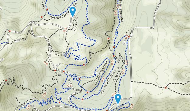 Family Man Mountain Bike Skills Park Map