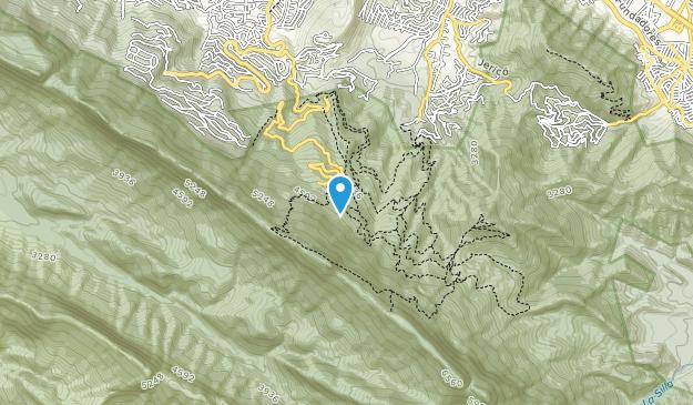 Reserva Nacional Chipinque Map