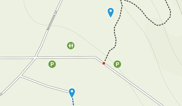 Lake Whatcom Park Map