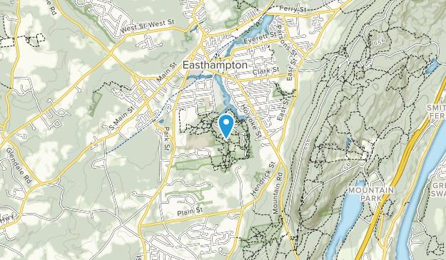 Nonotuck Park Map