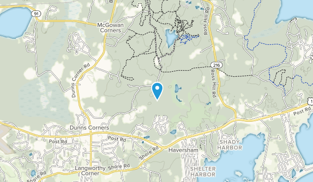 Woody Hill Management Area Map