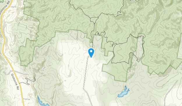 Lerderderg State Park (Pyrete Range) Map