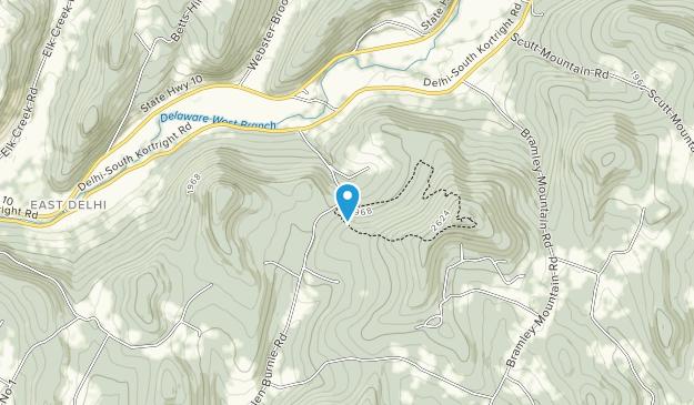 Bramley Mountain Unit Map