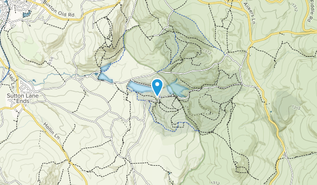 Macclesfield Forest Map