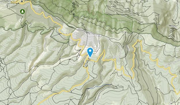Mount Ventoux Biological Reserve Map
