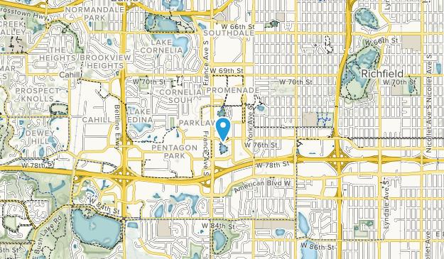 Centennial Lakes Park Map