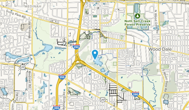 Songbird Slough Forest Preserve Map