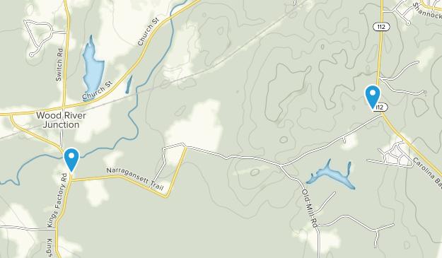 Francis C. Carter Memorial Preserve Map