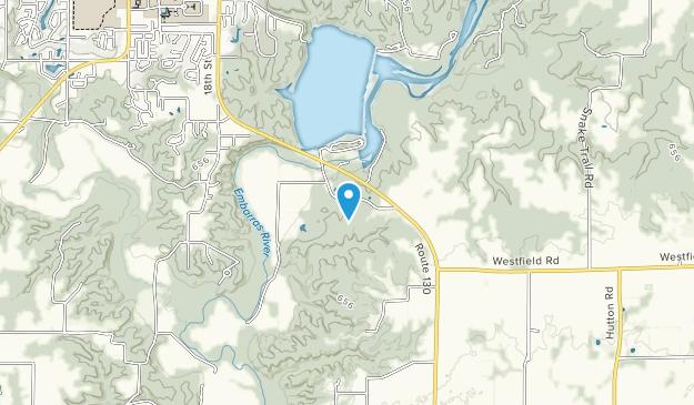 Warbler Ridge Conservation Area Map