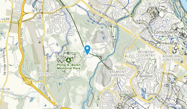 Two Creeks Trail Area Map