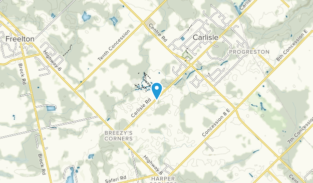 Courtcliffe Park Map