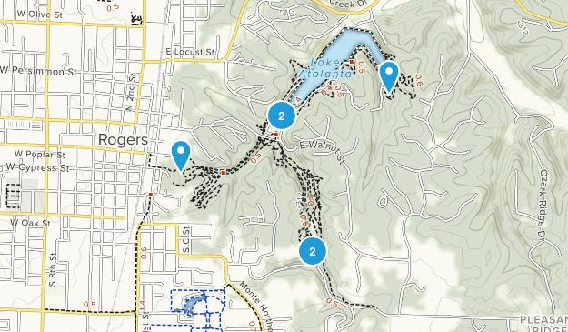 Lake Atalanta Park Map