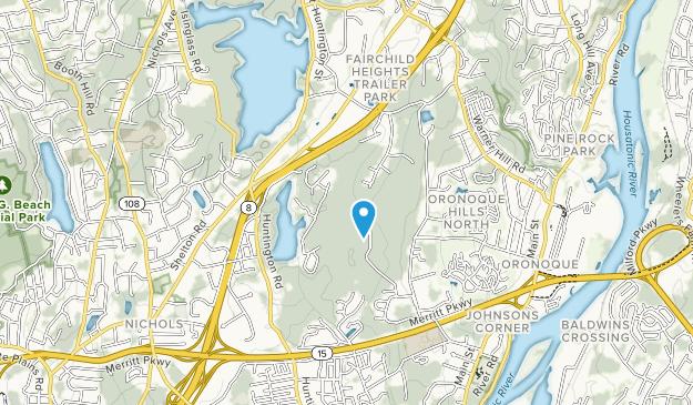 Roosevelt Forest Map