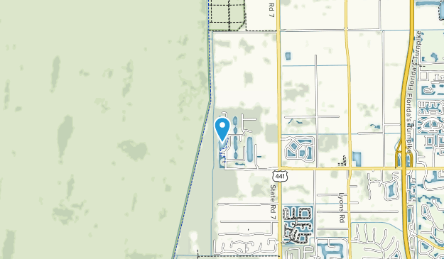 West Delray Regional Park Map