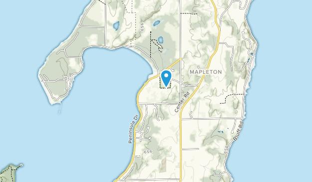 Bowers Harbor Park Map