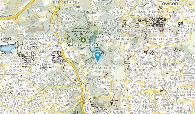 Robert E. Lee Park  Map