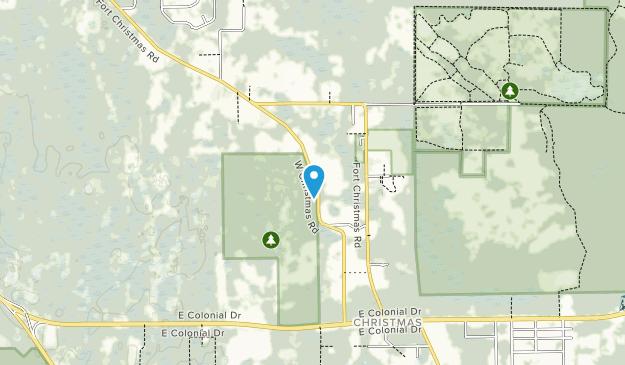 Savage Christmas Creek Preserve Map