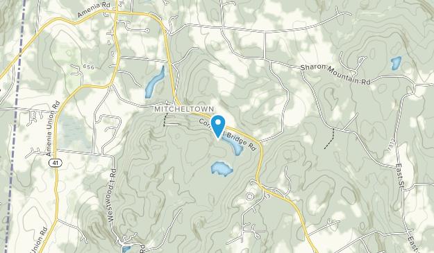 Sharon Audubon Center Map