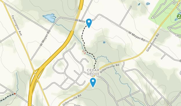 Althouse Arboretum Map