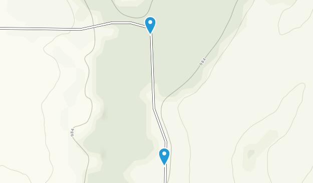 Fall River Badger Creek Trails Map