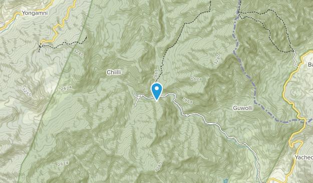 Gayasan National Park Map