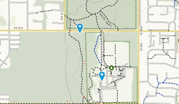 Sunnyside Acres Urban Forest Map