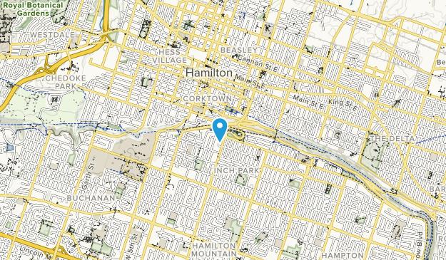 Sam Lawrence Park Map