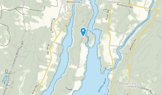 Swan Island Wildlife Management Area Map