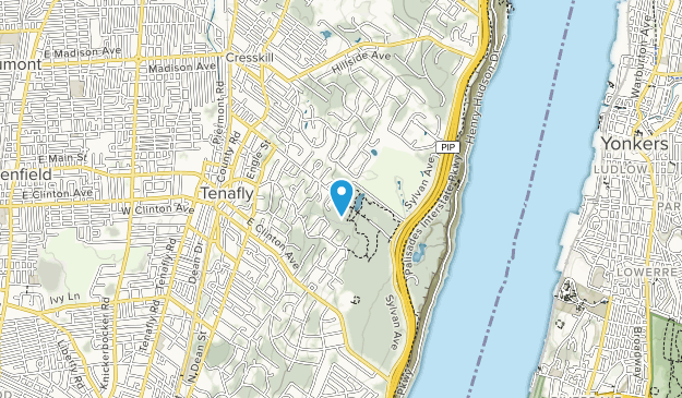 Tenafly Nature Center Map