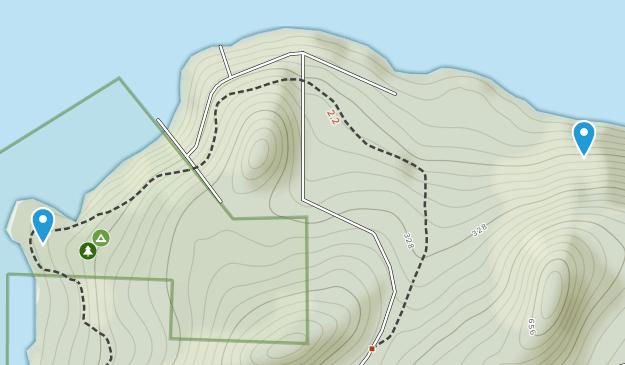 Plumper Cove Marine Provincial Park Map