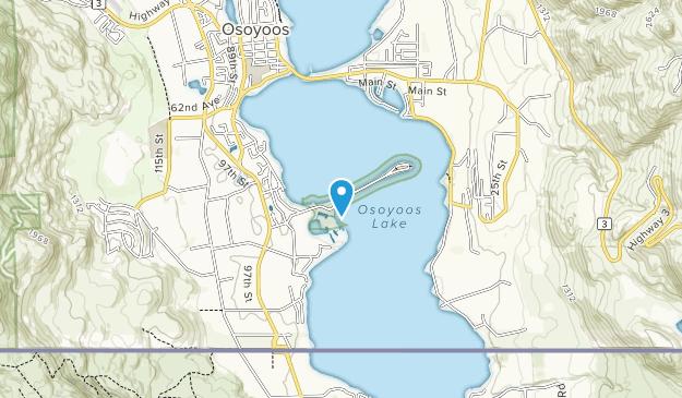 Swiws Provincial Park Map